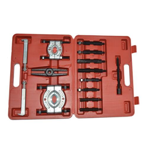 14PCS Bearing Separator Puller Set Heavy Duty 5-Ton Capacity Splitters Remove