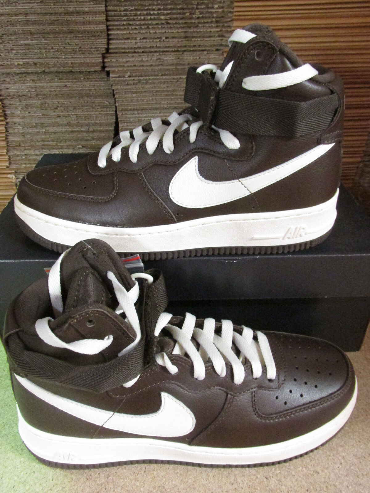 nike air force 1 hi retro QS mens hi top trainers 743546 200 sneakers shoes