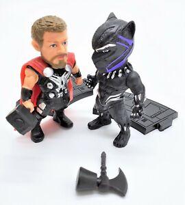 Panthere-Noire-et-THOR-Action-Figure-Toy-Set