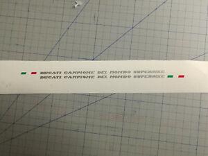 KIT-Adesivi-Stickers-CODONE-DUCATI-748-916-996-Superbike-DESMOQUATTRO-MONOPOSTO
