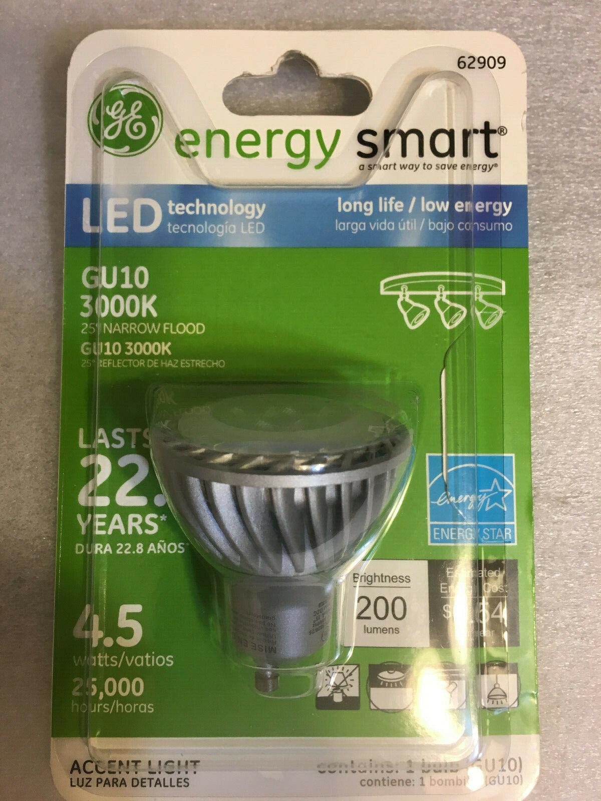 Details about Genuine-GE-Energy-Smart-LED-GU10 Narrow Flood-6-watt ...