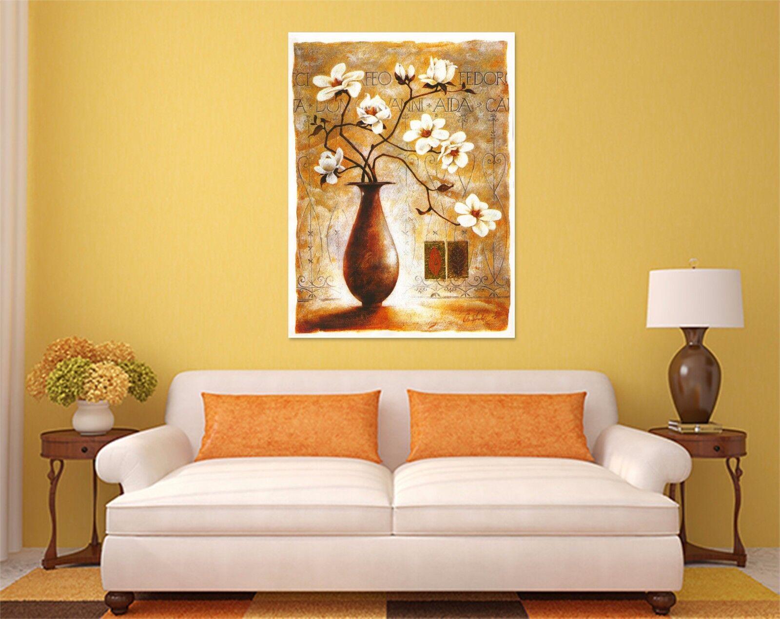 3D Knstlerische Blaumen Vasen 8 Fototapeten Wandbild BildTapete AJSTORE DE Lemon