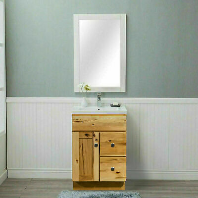 "24/"" Bathroom Vanity 24-inch Cabinet Cherry Shaker"