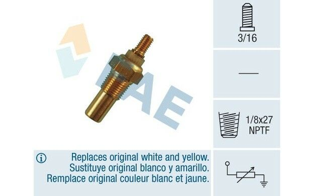 FAE Sensor temp. refrigerante FORD FIESTA TRANSIT 32080