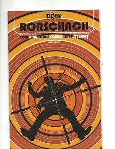 Rorschach #3 very fine+ condition VF+