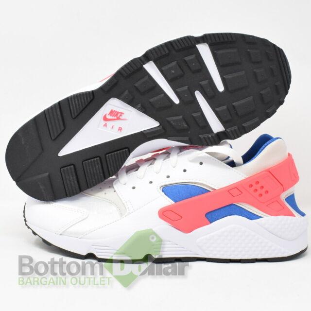 Nike Air Huarache Mens 318429-112 Ultramarine Solar Red Running Shoes Size 8