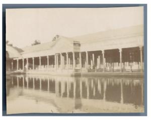 Egypte-Caire-Palais-de-Choubra-Vintage-citrate-print-Tirage-c