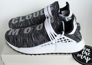 Adidas Pharrell Human Race HU NMD Trail Oreo Black White Grey UK 5 6 7 8 9 10 11