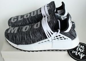 fc102866554 Adidas Pharrell Human Race HU NMD Trail Oreo Black White Grey UK 5 6 ...