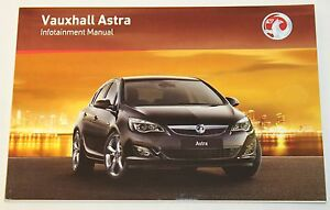 VAUXHALL-ASTRA-J-2009-2015-INFOTAINMENT-SYSTEM-AUDIO-SAT-NAV-NAVIGATION-MANUAL