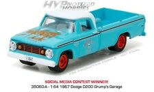 GREENLIGHT 1:64 1967 DODGE D-200  DIE-CAST 35060-A