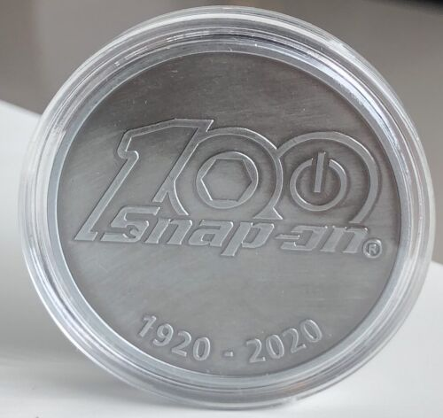 Snap-on Tools 100th Anniversary Commemorative Challenge Coin