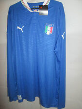 Italy 2012-2013 Home Football Shirt Size XXL LS /34083