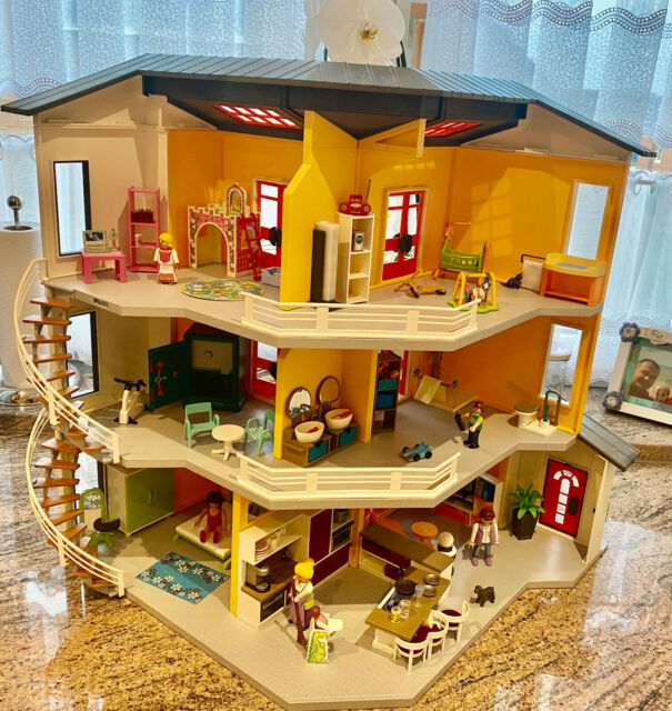 playmobil city life modernes wohnhaus 9266 günstig