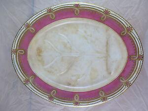 Antike Servierteller IN Cermamica Frankreich Erste 900 Tablett R20
