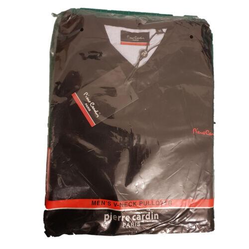Pierre Cardin Paris Cotton Rich Mens V-Neck Pullover Jumper