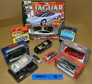 10 X Jaguar Xj220 – Divers Modèles & Scales – Matchbox, Maisto, Edocar, Welly. Un-afficher Le Titre D'origine Mode Attrayante