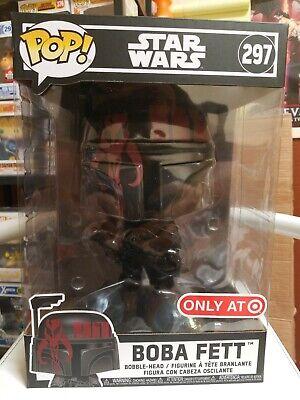 "Star Wars Boba Fett Black US Exclusive 10/"" Pop RS -FUN44805-FUNKO Vinyl"