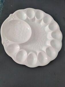Deviled egg plate ceramic