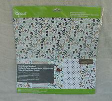 """Cricut Washi Sheets, """"Woodland""""  (5) - 12"""" x 12"""" Sheets ~ NEW"""