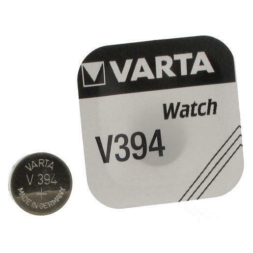 [Ref:394101111] VARTA Pile oxyde argent pour montres V394 (SR45) SR936SW 1,55 Vo