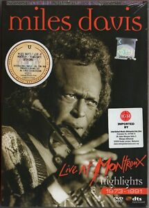 MILES DAVIS Live At Montreux Highlights 1973-91 MALAYSIA / ASIA DVD-9 + SLIPCASE