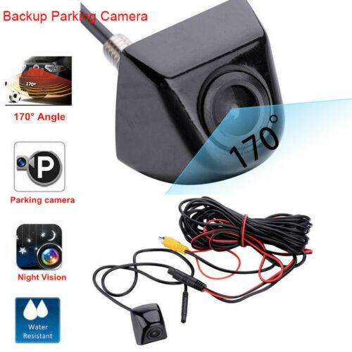 Car Rear View Reversing Camera HD CCD 170° Waterproof Night Vision