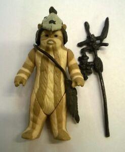 Star-Wars-Vintage-Logray-Ewok-Medicine-Man-loose-figure-Kenner-Original-Complete