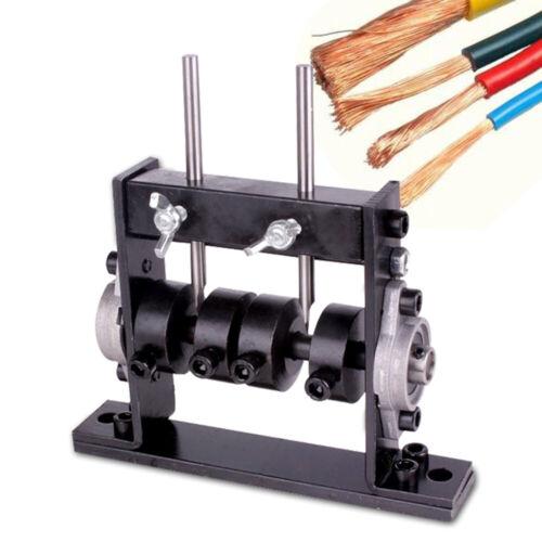 Manual Wire Stripping Machine Copper Cable Peeling Stripper w// Cutter