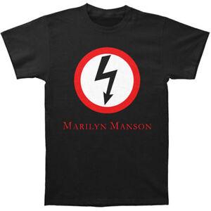 Marilyn Manson Classic Bolt S XL 2XL Black T-Shirt L M