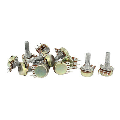 1K 2K 5K 10K OHM Linear Taper Rotary Potentiometer Pot 3 Sets WS O1B6