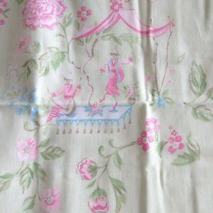 Pottery-Barn-Kids-Standard-Pillow-Sham-Green-Cherry-Blossom-Asian-Garden
