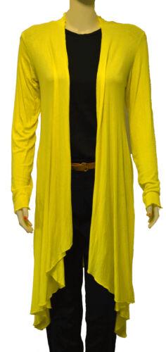 5320 womens New Casual Thin Long Sleeve Waterfall Cardigan shrug top