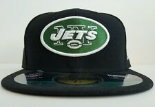 New Era 59/50 Fitted Hat - New York Jets (Black/Green)
