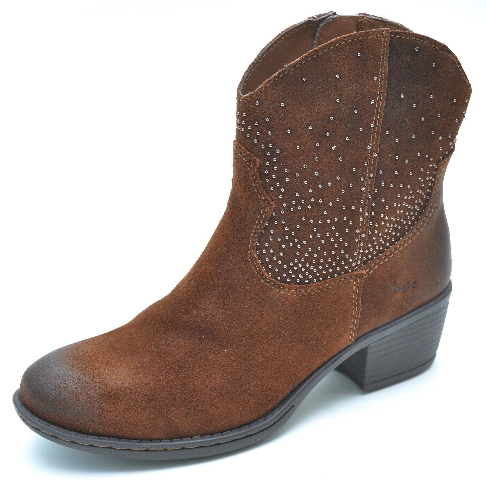 vendita online Born B.O.C Ambrosia Marrone Suede Ankle stivali Donna    6.5 - NEW - C42106  economico e di alta qualità