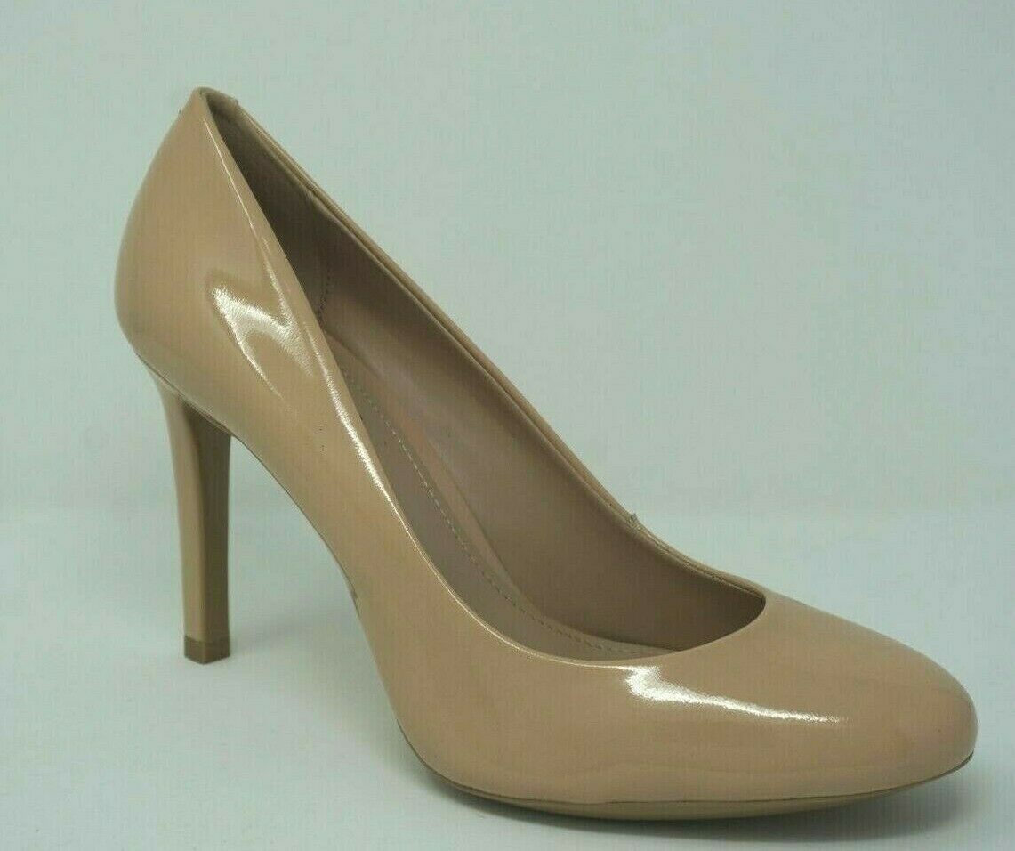 DKNY Laci Nude Patent Leather Classic Pumps