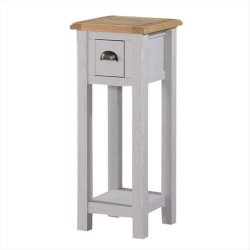 Kilmer peint Téléphone Support Gris-guéridon-Tall side table