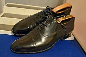 Russell-amp-Bromley-inteligente-Clasico-Elegante-Negro-Zapatos-Oxford-Trabajo-UK-9-5-EU-43-5