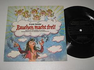 """7""""/FLEXI FLEXIBLE SCHALLFOLIE/FRANK ZANDER/RAUCHEN MACHT FREI/made in Austria"""