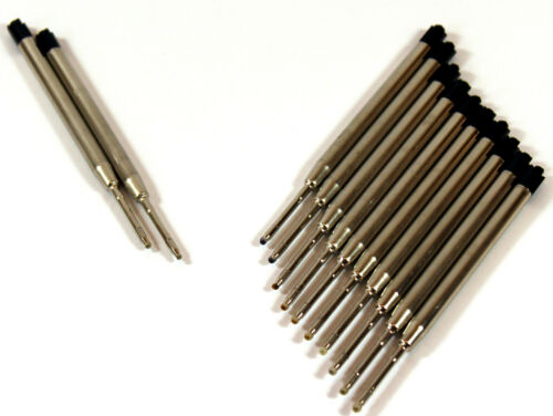Kugelschreiberminen 500Stk Kuliminen Großraumminen Ersatzminen Schwarz Minen 177