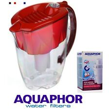 AQUAPHOR IDEAL Ruby Water Filter Jug 2.8 L and 1 Classic cartridge 170 L