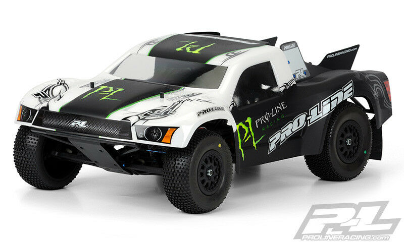 Pro-Line 3355-00 Flo-Tek Body (Clear) (Slash SC10 SC6 Blitz)