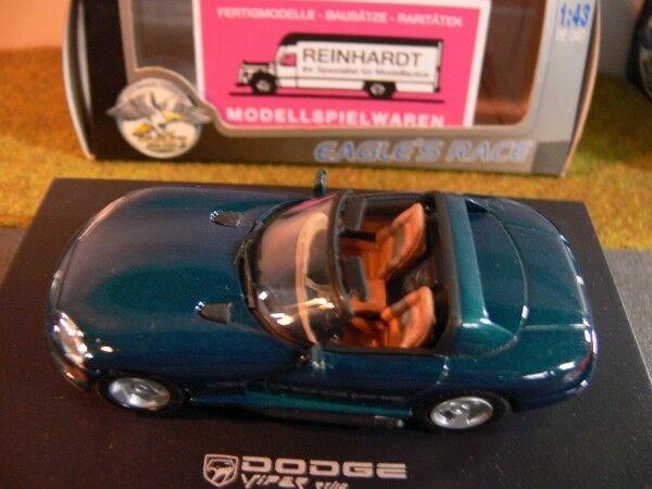 1 43 UH 623005 Dodge Viper Cabrio greenmetallic greenmetallic greenmetallic 9627f6
