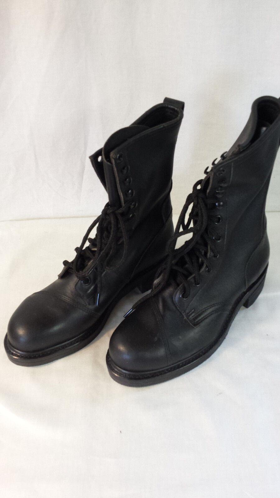 Ansi z41 del 1983 / 75 del z41 nuovo vecchio stock acciaio stivali militari dimensioni 8r Uomo bd4e24
