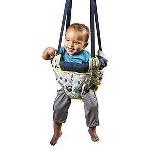 Evenflo-Johnny-Jump-Up-Blue-Owl-Door-Doorway-Baby-Jumper-Jump-Up-Exerciser-New