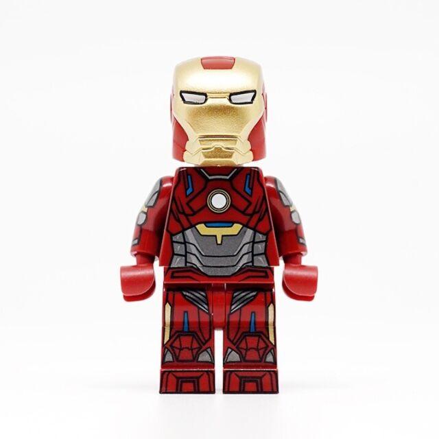 Marvel Super heroes Black CHROME Iron-Man Mark 16 nightclub figure USA