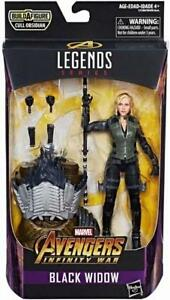 Marvel Legends Hasbro 2017 Mcu Avengers Infinity War Black Widow 6 Inch Loose