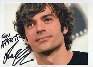 Luca-Argentero-Foto-su-carta-Autografata-Autografo-Signed-Photo-ITP-Actor-Cinema