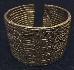 Bracelet-Alloy-Bronzesmith-Gourmantche-Niger-or-Burkina-Faso-Africa-Jewelry