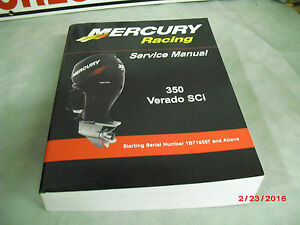 Mercury verado Maintenance manual
